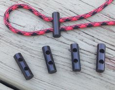 Ferro Rods - Drilled Flint Fire Steel Toggles for Paracord Bracelets 5 – Stockstill Outdoor Supply