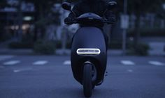 Gogoro's newly unveiled S model smartscooter is faster and more powerful than the company's previous battery-powered scooters.