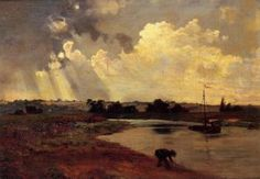 The Banks of the River - Charles François Daubigny - The Athenaeum
