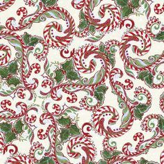 Peppermint Swirls Winter Wonderland by NauvooQuiltCo on Etsy, $5.05- awesome!