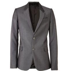 Alexander McQueen Wool-Blend Suit Jacket | MR PORTER