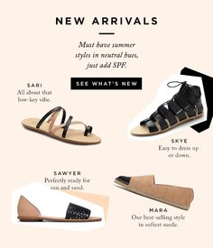 Shop New Neutral Shoe Arrivals Online at The Official Loeffler Randall Store www.LoefflerRandall.com