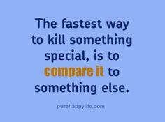 #quotes - The fastest way to kill...more on purehappylife.com
