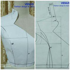 Sewing Paterns, T Shirt Sewing Pattern, Tunic Sewing Patterns, Pattern Drafting, Clothing Patterns, African Dress Patterns, Sewing Studio, Pattern Cutting, Fabric Manipulation