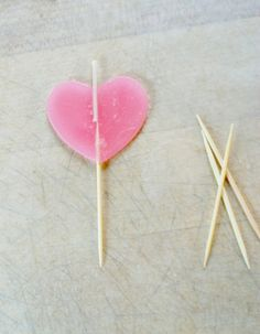 DIY Valentine's Day Candles by Hello!Lucky ❥