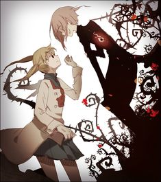 Maka and Crona, Soul Eater