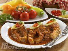 Pontypörkölt recept Hungarian Recipes, Fish Recipes, Whisky, Curry, Food And Drink, Soup, Dishes, Chicken, Fish Food