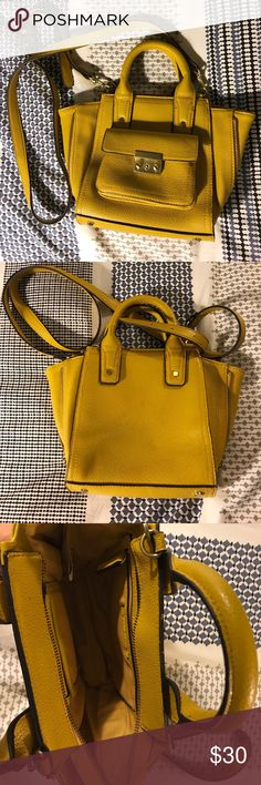 Phillip Lim for Target cross body bag Never used Phillip Lim for target mustard yellow cross body with removable shoulder strap 3.1 Phillip Lim for Target Bags Crossbody Bags