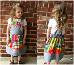 "This is called a ""Stitch in Color"" dress--it is so cute and has an easy tutorial"