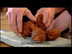 Buttermilk Fried Chicken With Quick Sweet Pickled Celery Recipe - YouTube