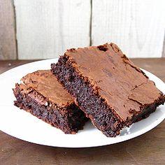 Tartine Brownies from divine baking. Best gooey brownies ever!