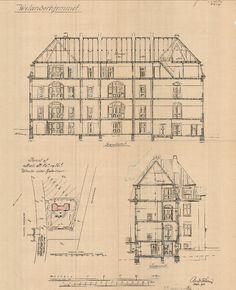 Her er de brændte tegninger over København: Grundtvigskirken, Danmarks første højhus, Jagtvej 69 og Brumleby er væk - politiken.dk