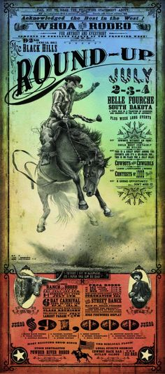 Vintage Rodeo Poster 30