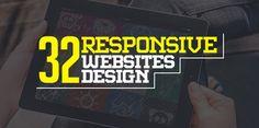 Responsive Websites Design – 32 Inspiring Web Examples #responsivewebdesign #responsivedesign #html5websites #css3