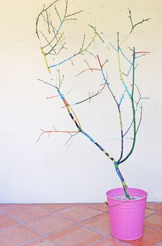Paint a Rainbow Tree with your kids! BABBLE DABBLE DO