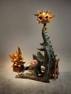 """Shaun Tan 'The Singing Bones'- """" This book is a collection of 75 clay figurines…"""