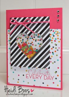 Project Life by Stampin' Up Everyday Adventure Shaker Card