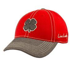 929ca7f0 Black Clover LIVE LUCKY BC Wool Golf Cap LXL 2 RedGrey *** Read more