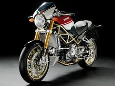 Ducati Monster is a motorcycle designed by Miguel Angel Galluzzi and produced by Ducati Motor Holding in Bologna. It is a naked bike, characterized by an Ducati Monster 750, Ducati Monster Custom, Ducati 998, Ducati Desmo, Ducati Cafe Racer, Ducati Classic, Street Motorcycles, Ducati Motorcycles, Custom Motorcycles