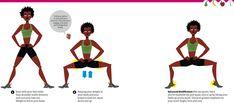 gluteus medius exercises - Cerca con Google