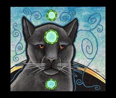 Black Panther spiritual guide- Spirit of the dark moon, traveller of the astral world. Master magician, a seer of the nights secrets. Astral Travel, Spiritual, Secretive, Elegant, Connected to the Moon, Solitary, Feminine, Mysticism, Guardian Energy, Power and Strength, God of darkness, Courage, Old Soul, Reclamation of power, Superior telepathic communication, Loners, Visionary, Shape shifter, Sensuality, Distant Healing, No Fear, Alchemy, The Goddess, Self empowerment, Symbol of the…