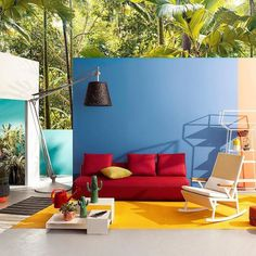 #Repost @stickmantribe  A little mid-week pop colour inspiration! Some of our favourite outdoor collections are in this image #colourpop #inspiration #yellow #blue #color #wireframe #oversized #outdoor #collection #planters #tuesday #fun #kettal #bonaldo #june #fabric #stickman #interiordesign #interior #design #hotel #boutique #undertheinfluenceofcreativity #dubai #hongkong