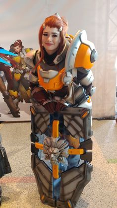 "AjentVee on Twitter: ""Amazing cosplay from @moosefix #Overwatch @PlayOverwatch… """