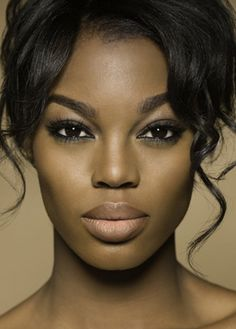 Eyes & Lips = GORGEOUS!!!!  Naturally fuller lips.  (I have no idea who this is.)