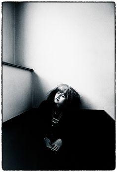 Lydia Lunch dec 1981, gefotografeerd voor Vinyl.