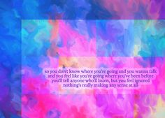 Talk by Coldplay. My fave by them It strangely applies to life. Very well Especially the first words of that song