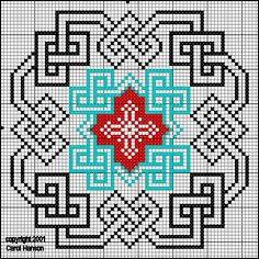 History and discussion of century samplers, embroidery, and needlework patterns. Celtic Cross Stitch, Cross Stitch Charts, Cross Stitch Designs, Cross Stitch Patterns, Blackwork Patterns, Celtic Patterns, Embroidery Patterns, Cross Stitching, Cross Stitch Embroidery