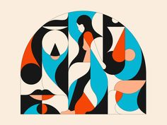 Personal Illustration Archive on Behance Illustrations, Illustration Art, Bedroom Murals, 36 Days Of Type, Behance, Silent Night, Vector Design, Marker, Pop Art