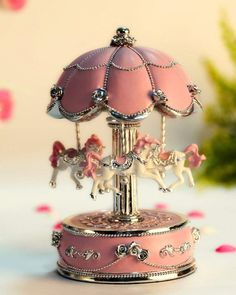 Cute Room Decor, Castle In The Sky, Carousel Horses, Color Changing Led, Pink Aesthetic, Princess Aesthetic, Flower Designs, Decoration, Girly Things