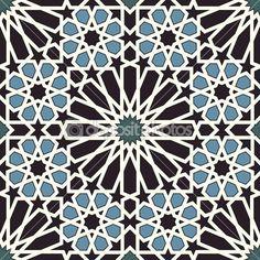 depositphotos_26563237-Arabesque-seamless-pattern-in-blue-and-black.jpg (450×450)