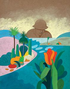 Milton Glaser, Atlantic cover