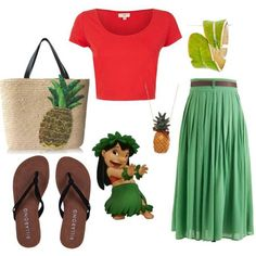lilo and stitch polyvore outfits