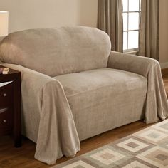 Reversible Fleece Furniture Cover Chair