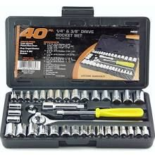 Socket set, don't have one currently.