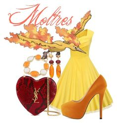 """""""Moltres"""" by waitingformybucky on Polyvore featuring Yves Saint Laurent, 1st & Gorgeous by Carolee and Chico's"""