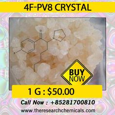 4F-PV8 crystal - http://www.theresearchchemicals.com/best-seller-8/4f-pv8.html
