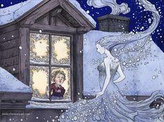 Snow Queen by Dreoilin on DeviantArt