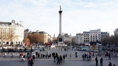 #TrafalgarSquare, desde 1843 en el centro está la columna del almirante #Nelson de 43,5 metros de altura que conmemora la victoria de éste sobre Napoleón en la batalla española de 1805 en el cabo Trafalgar. http://www.viajaralondres.com/lugares-para-visitar-en-londres/trafalgar-square-de-londres/ #Londres #turismo #viajar #Inglaterra