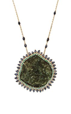 One of a Kind Queen of Black Sun Necklace by Natalie Dissel