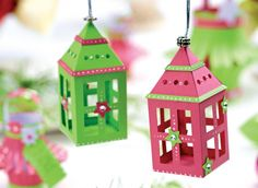 Paper Lanterns diy decoration christmas