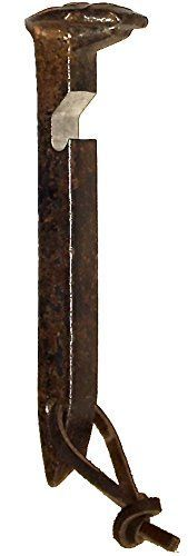 Bottle Opener - Heavy Duty Rustic Railroad Spike