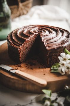 Simple Chocolate Cak...
