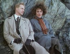 Lord Peter Wimsey and Harriet Vane - Edward Petherbridge in particular, perfectly cast.