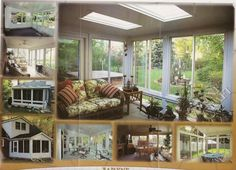 A Sun Room Addition is a good family space.