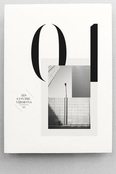 les contre versions 1 cover design  | typography / graphic design: les graphiquants |