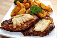 Cigánypecsenye Hungarian Cuisine, Hungarian Recipes, Hungarian Food, Pork Recipes, Cooking Recipes, Healthy Recipes, Czech Recipes, Ethnic Recipes, Roasted Pork Tenderloins